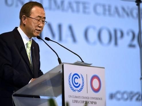 ועידת האקלים בפריז, נובמבר 2015