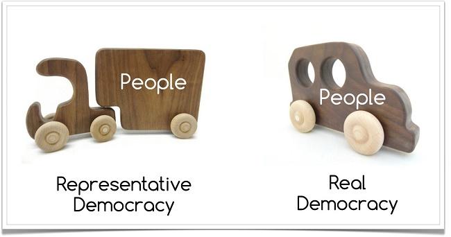 כל אחד והדמוקרטיה שלו